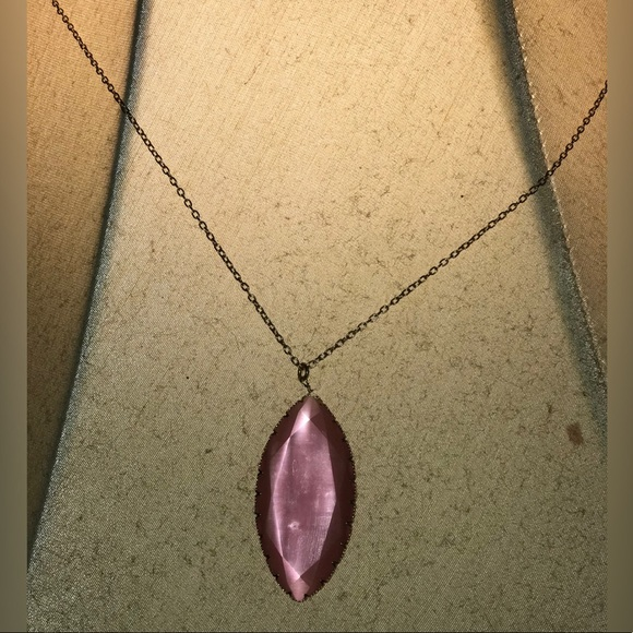 torrid Jewelry - Pink necklace with gold chain